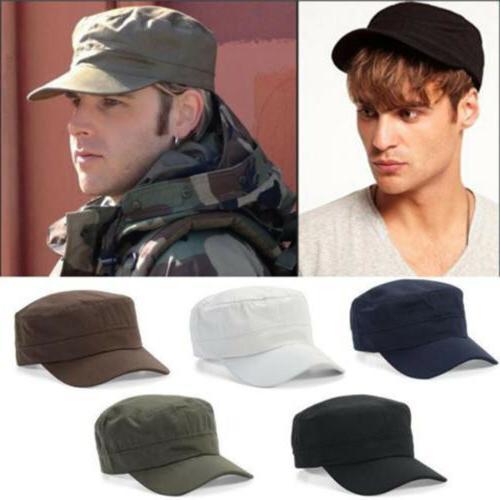 Men Cap Army Hat Cadet Castro Military Patrol Baseball Summe