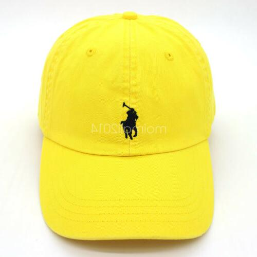 Polo RL Mens Womens Adjustable Hat Sport Classic Embroideried