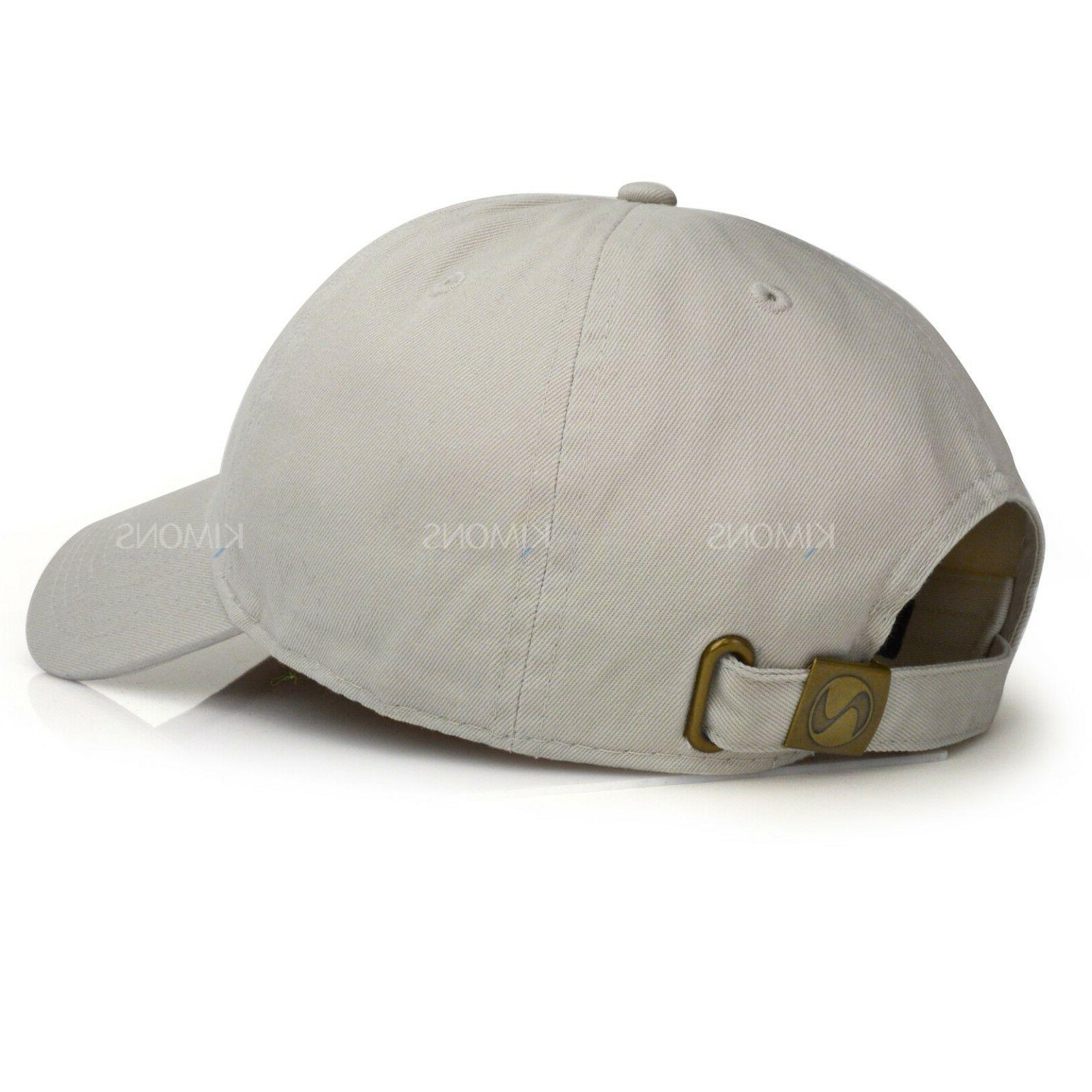 Polo Style Baseball Cap Ball Dad Adjustable Mens