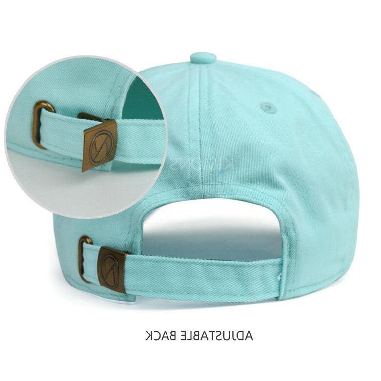 Polo Cotton Cap Adjustable Plain Men
