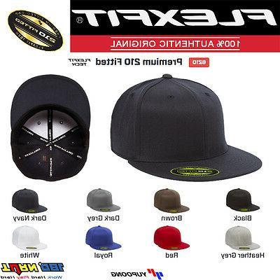 premium flat bill baseball cap yupoong wool