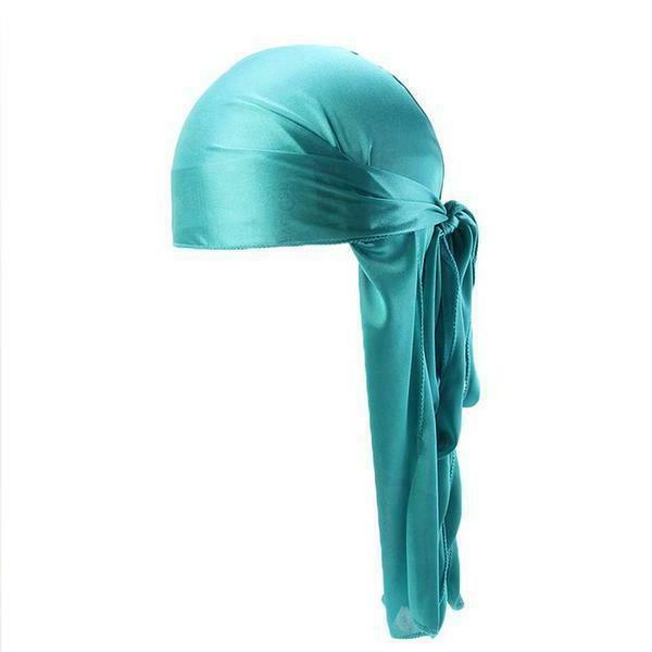 Premium Silky Wave Rag Hat Bonnet Wrap