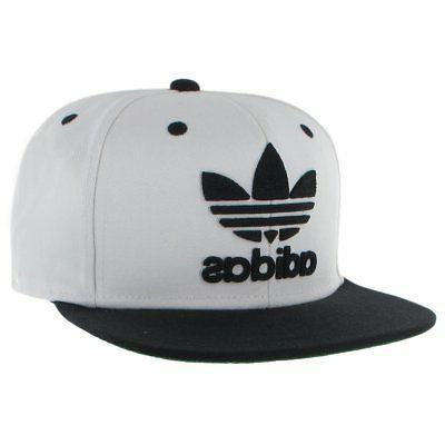 snapback flat brim cap