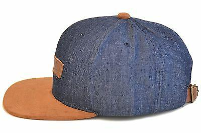 Skyed Snapback with Leather Strap