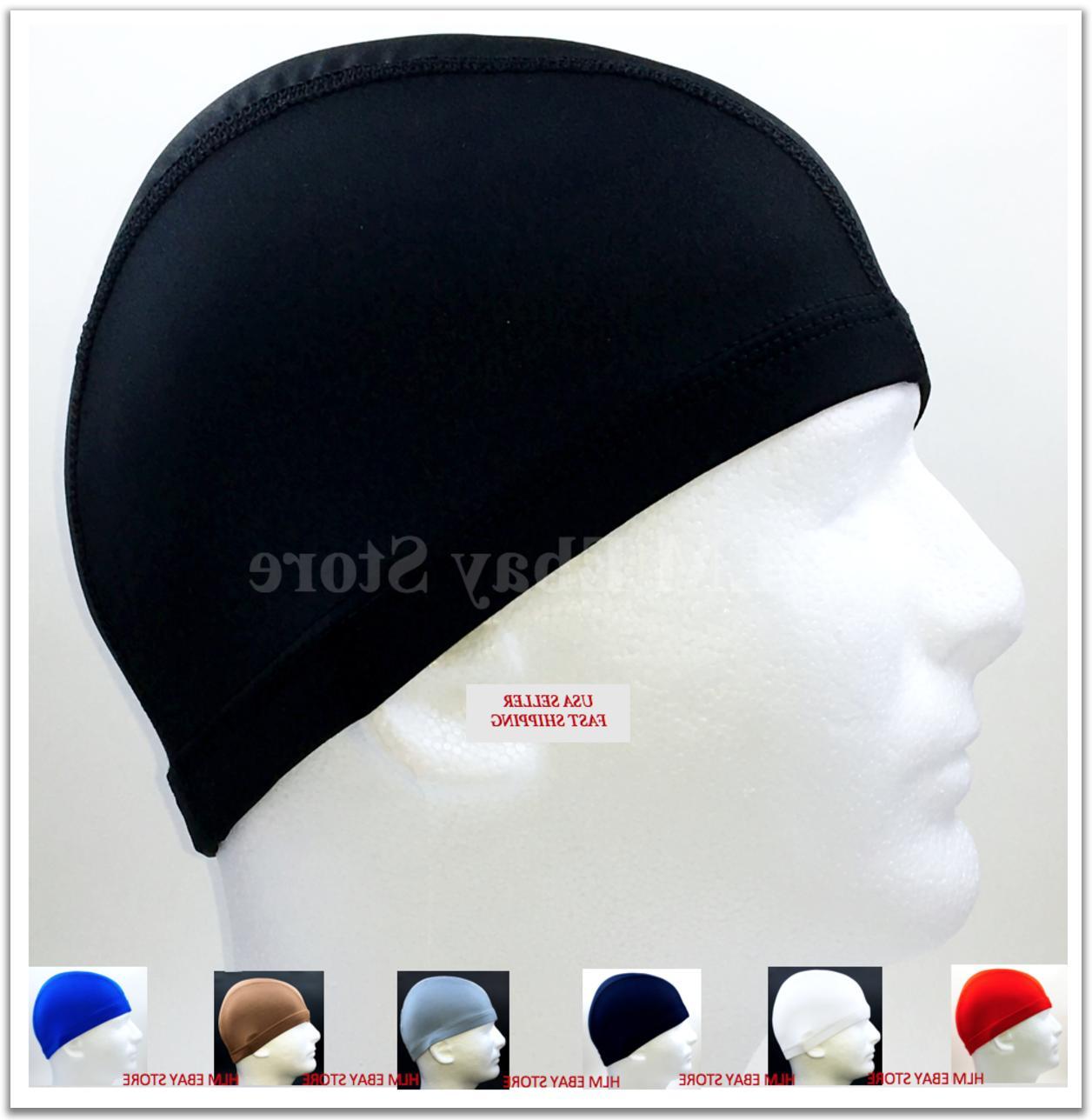 spandex dome cap helmet liner sports football
