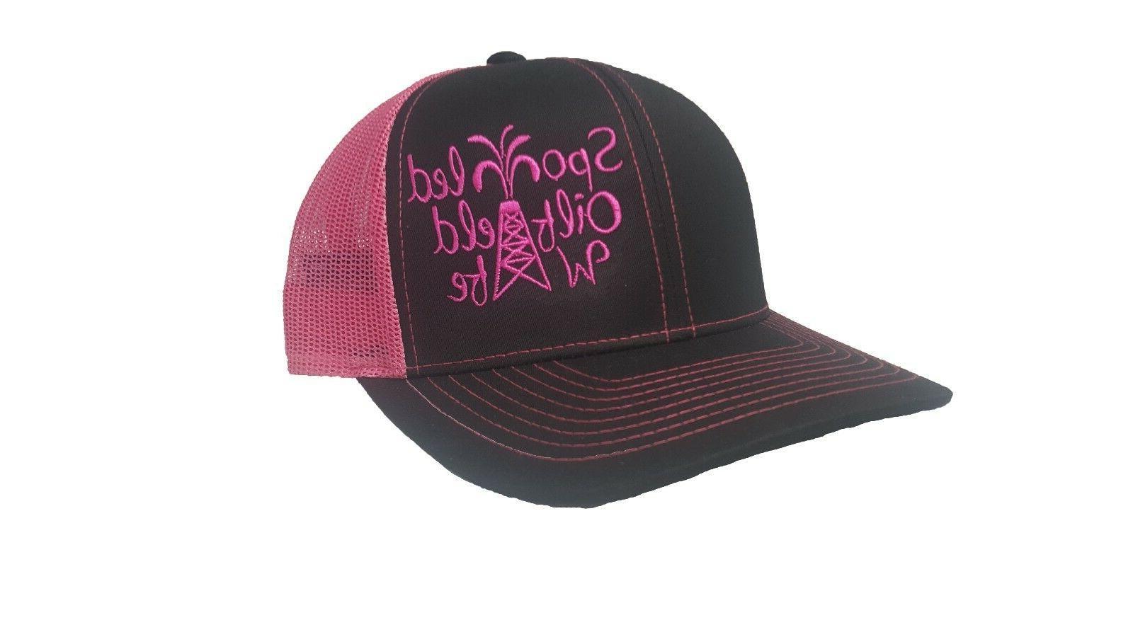 Richardson Spoiled OilField Wife Snapback Hat, Trucker Cap f