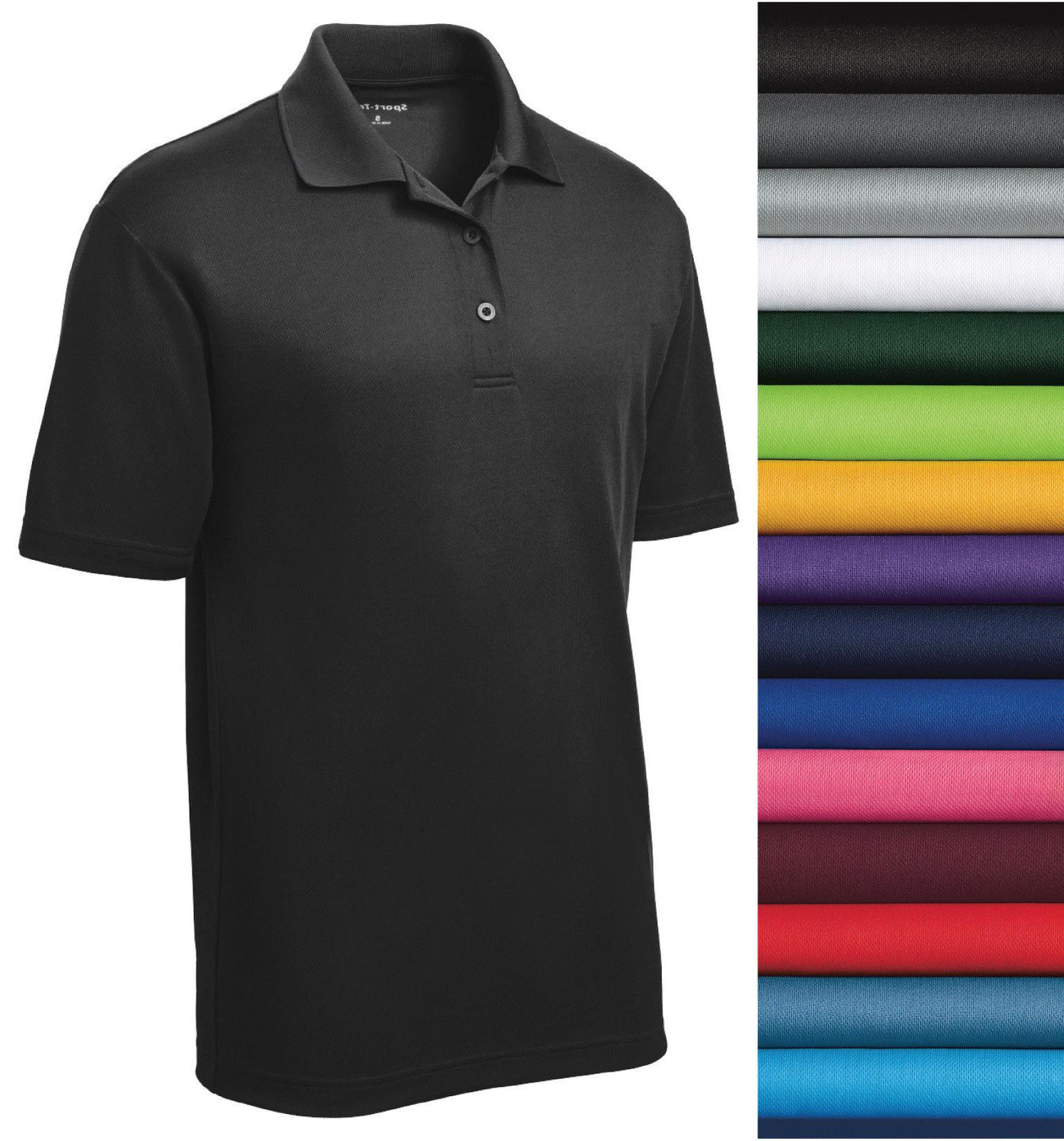Sport-Tek st640 Port Authority Dri-Fit  Polo Golf SHIRT FREE