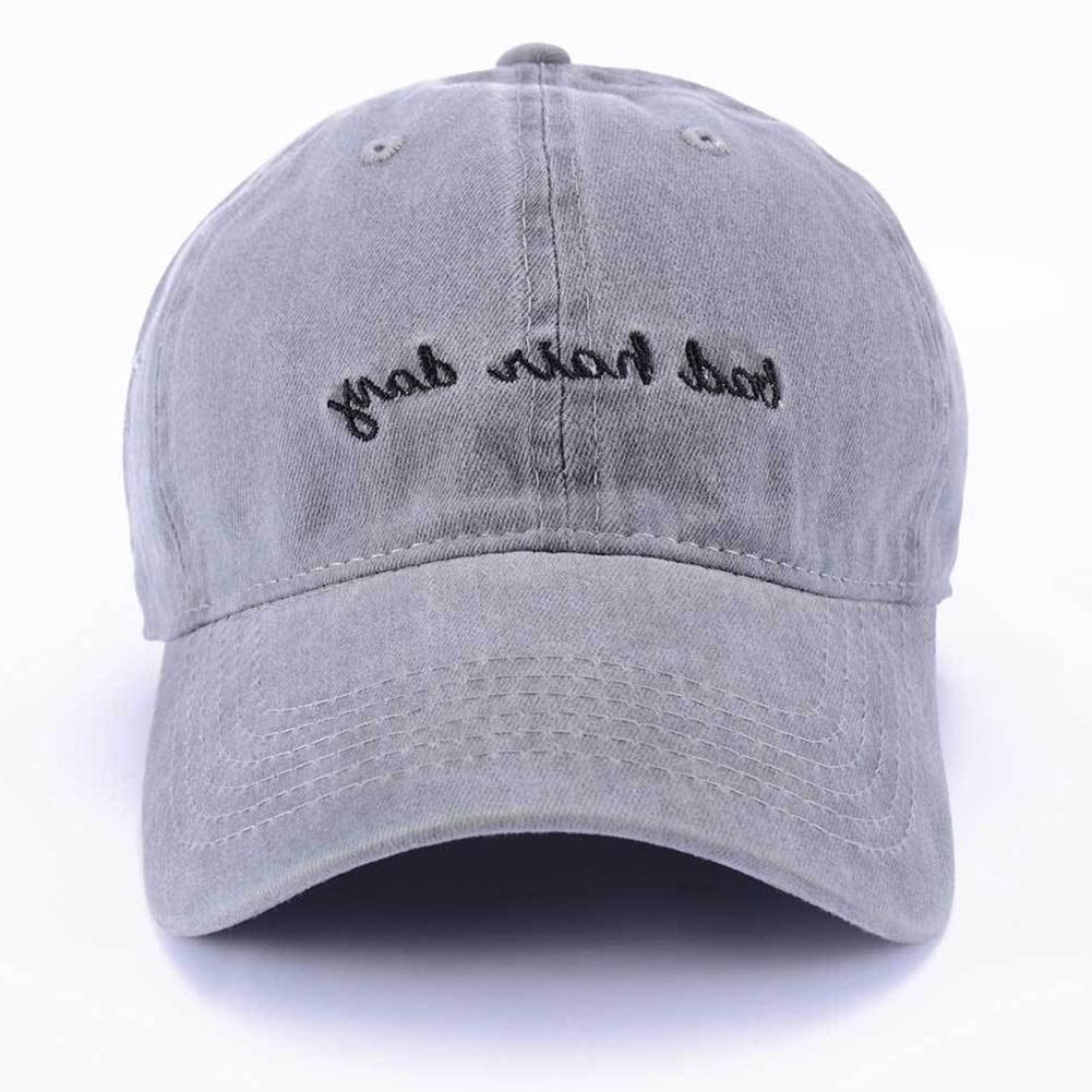 Summer Baseball <font><b>Hat</b></font> Embroidery English Letters Lightweight Casual Fashion Hair Day