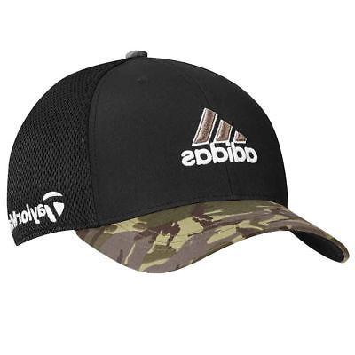 TaylorMade Adidas Golf Tour Mesh FlexFit Black/Camo Camoufla