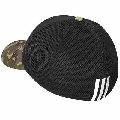 TaylorMade Adidas Golf Mesh Black/Camo Camouflage Fitted