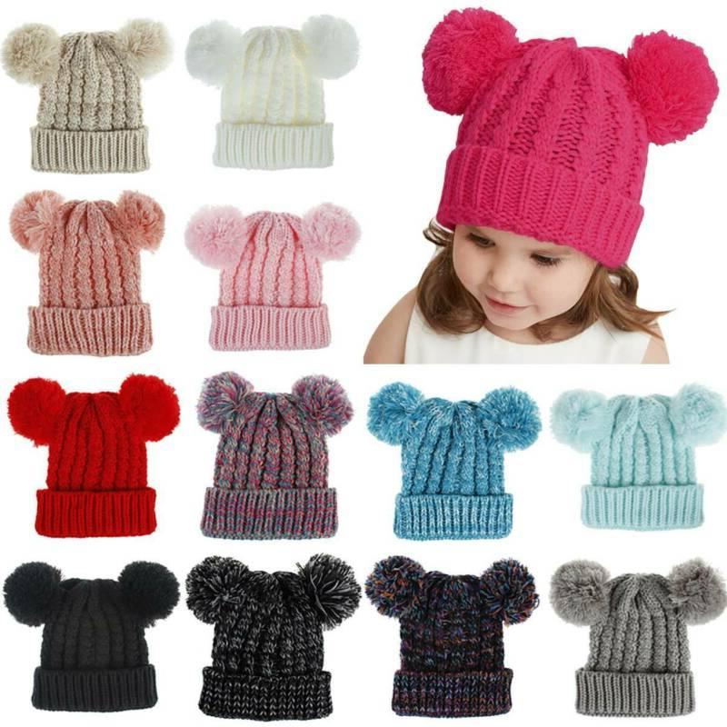 Toddler Kids Girls Fur Cap