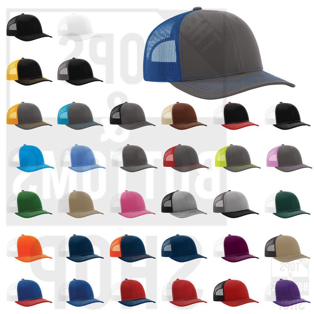 trucker ball cap meshback hat snapback cap