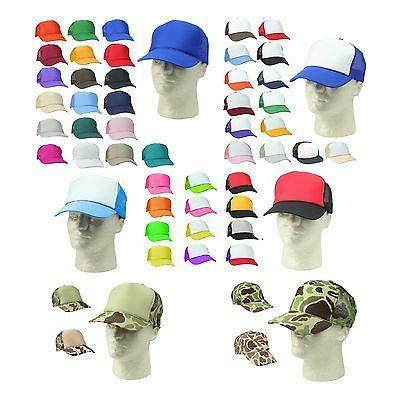 trucker hat baseball cap mesh caps blank