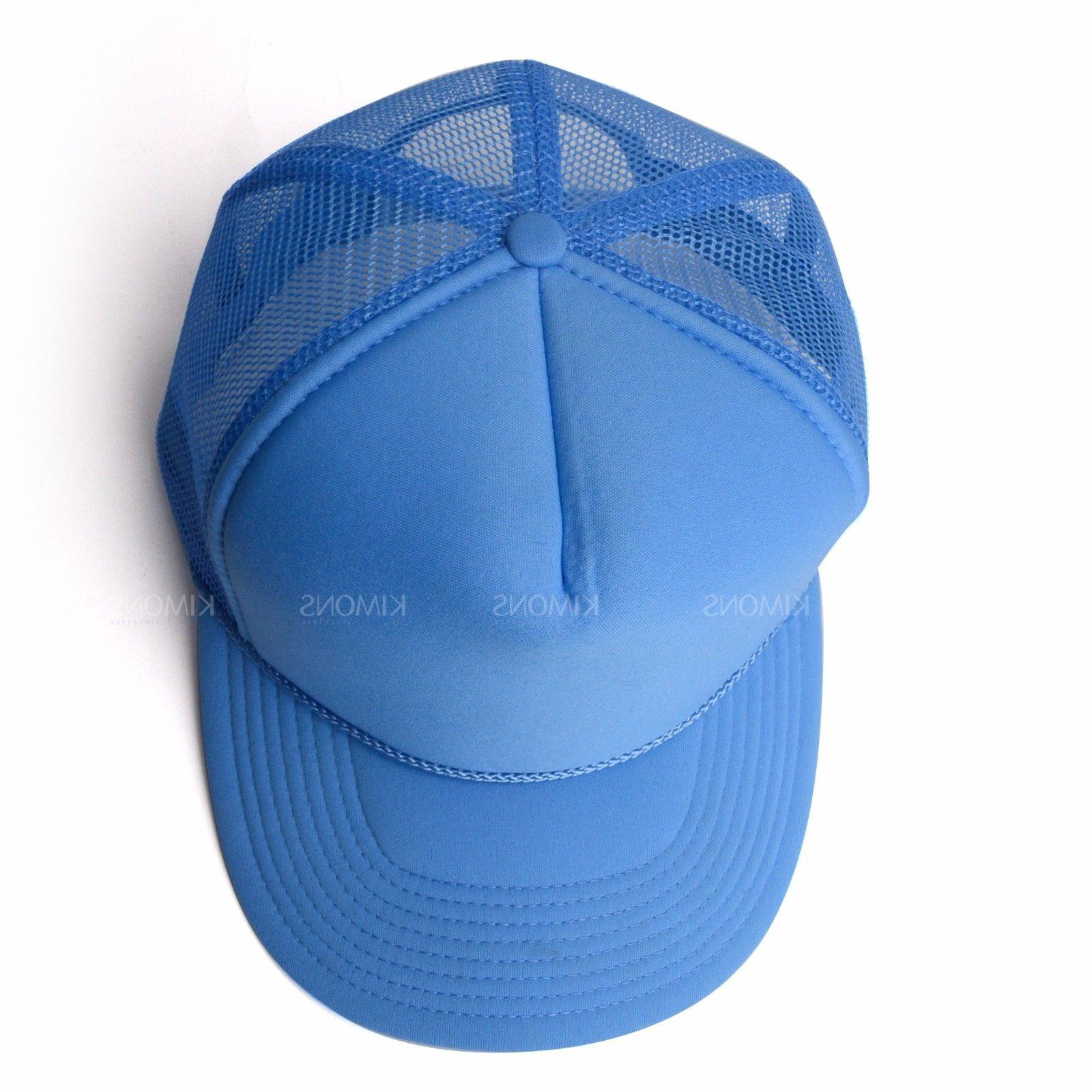 Trucker Hat Solid Men Flat