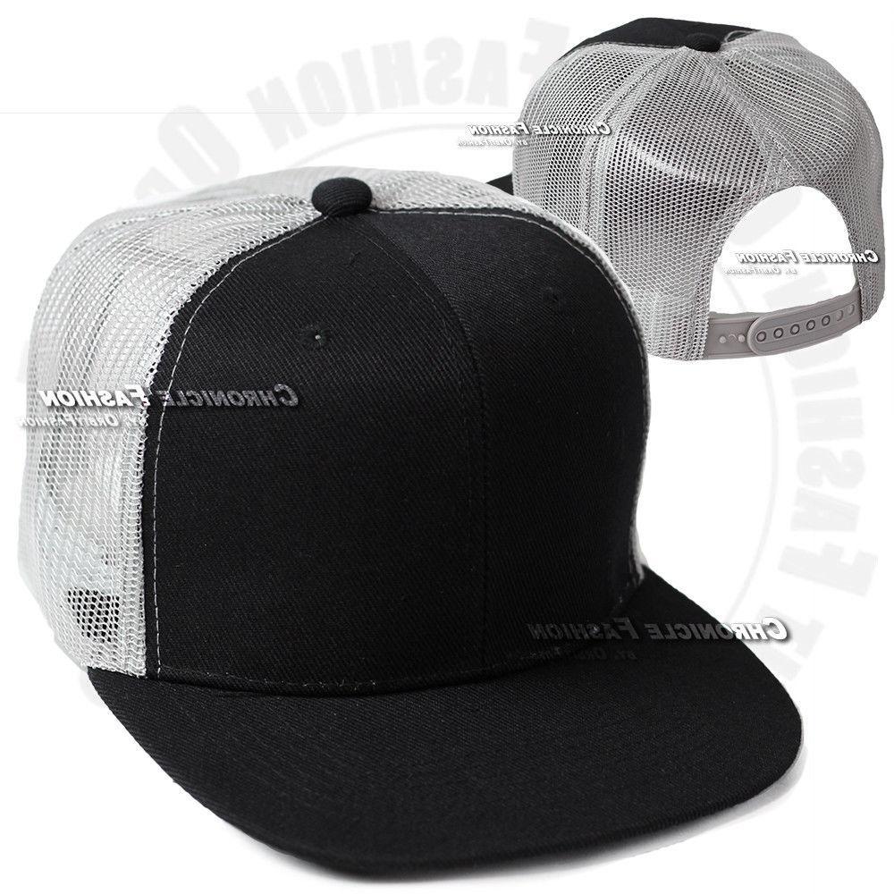 Trucker Hat Snapback Cap Visor Mens
