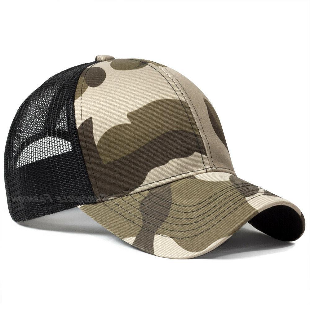 Trucker Hat Snapback Mesh Back Cap Caps