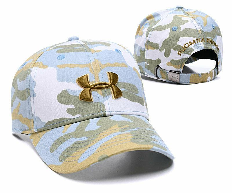 Camourflage Under Baseball Cap Unisex Women
