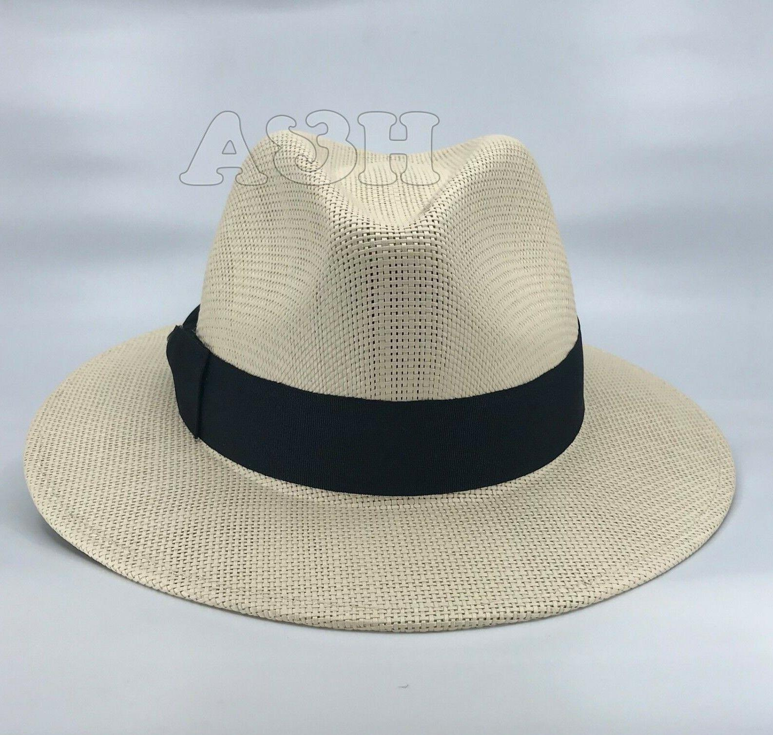 Straw Panama Hat, Dress Hat