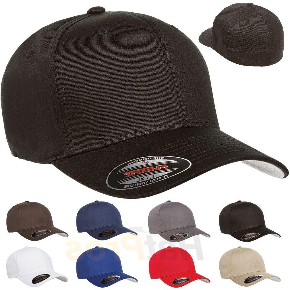 v cotton twill baseball cap fitted flex