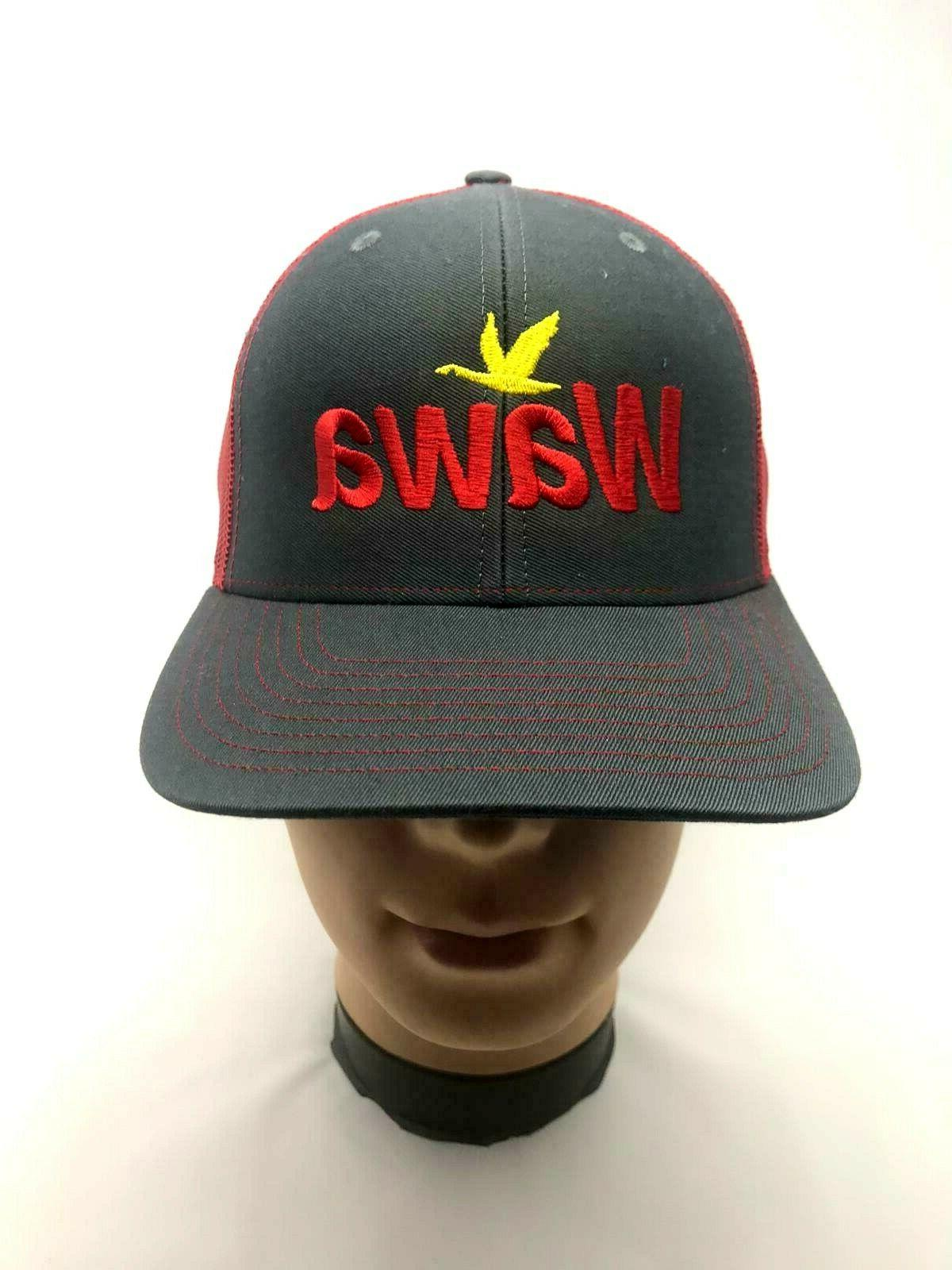 wawa employee hat embroidered red 112