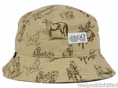 Dickies Western Convo Bucket Style Cap Hat  L/XL