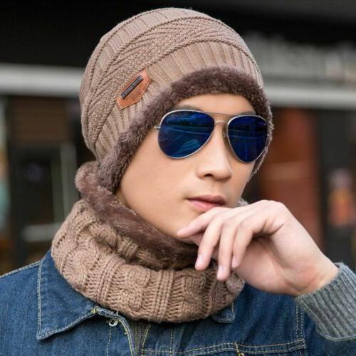 Winter Beanie Hat Set Snow Tactical Men Women