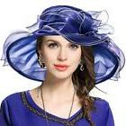 VECRY Women Church Derby Hat Wide Brim Wedding Dress Tea Par