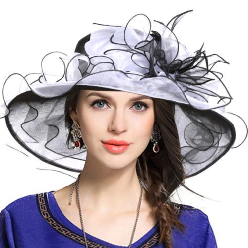 women church derby hats tea party bridal