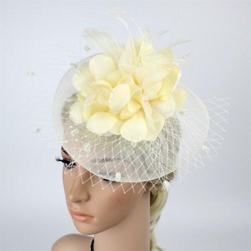 Women Feather Hair Headwear Headdress