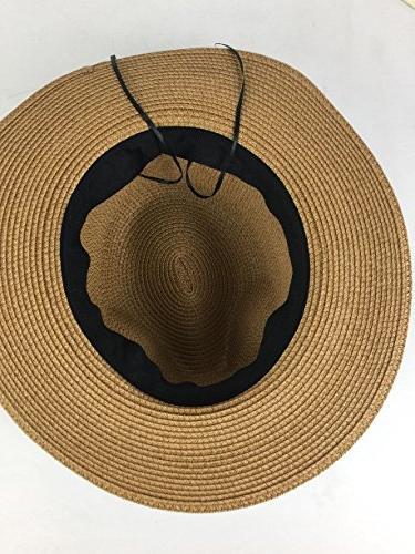 Lanzom Straw Roll Hat