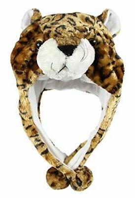 Women Accessories Lion Animal Hood Hats Scarfs