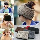 Womens Men Knit Crochet Wide Headband Headwrap Hairband Sacr