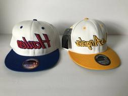 *Lot Of 2* KBETHOS Los Angeles/Harlem Snapback Hats