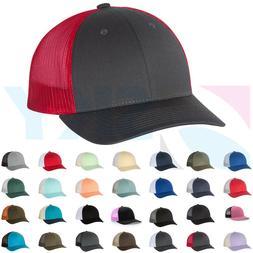 Richardson Low Profile Trucker Ball Cap Meshback Hat Snapbac