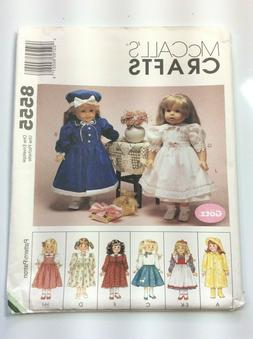 McCall's CRAFTS 8555  Doll Clothes Package