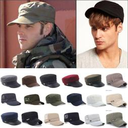 Men Flat Cotton Baseball Caps Adjustable Casual Sports Fish