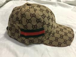 For Men Or Women GG Brown Cap/ Hat Brand New