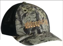 Columbia Men's Camo Mesh Hat Cap Mossy Oak Mountain L/XL Fle