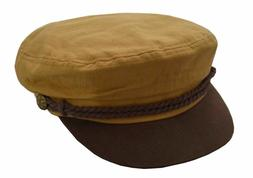 Epoch Men's Cotton Greek Cap Fisherman Apple Hat