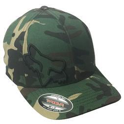 Fox Racing Men's Flex 45 Flexfit Hat Camo Green Moto-X Cloth