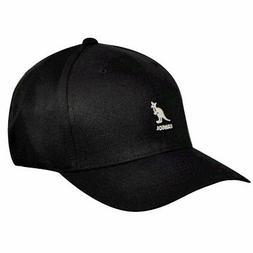 Kangol Men's Flexfit Black Baseball Cap Hat