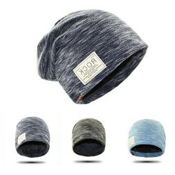 Men's Hats Autumn Winter Cotton Hats Caps Warm Skullies Bean