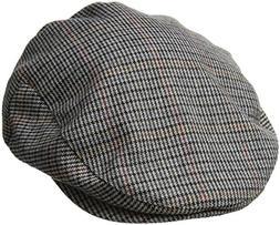 Brixton Men's Hooligan Driver Snap Hat, tan/navy, Small
