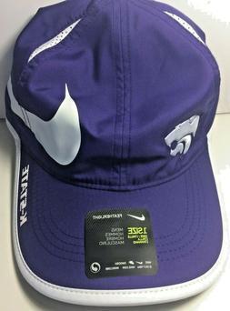 Men's Nike Kansas State Wildcats Hat Cap Featherlight Swoosh