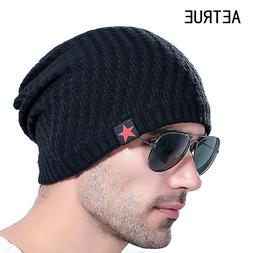 Men's Knit Hat Beanies Men Winter Hats For Men Bonnet Skulli