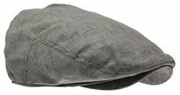 Men's Linen Flat Ivy Cap Gatsby Summer Cabbie Newsboy Hat Ch