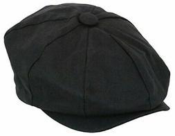 Epoch hats Men's Newsboy Linen Applejack Gatsby Collection I