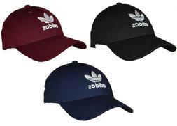 Adidas Men's Originals Trefoil Hat / Cap NEW Strapback Black