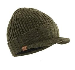 Home Prefer Men's Outdoor Newsboy Hat Winter Warm Thick Knit