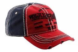 True Religion Men's Printed Adjustable Cotton Baseball Hat